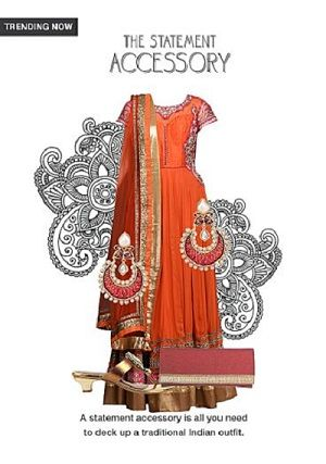 Limeroad is offering Suit With stone red earrings, gold sandals with red clutches @ Rs 1489 How to catch the offer: Click here for offer page AddProductin your cart Login or Register Fill the shipping details Make final payment