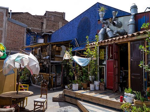 Super Quirky, Cute Restaurant in Barrio Italia