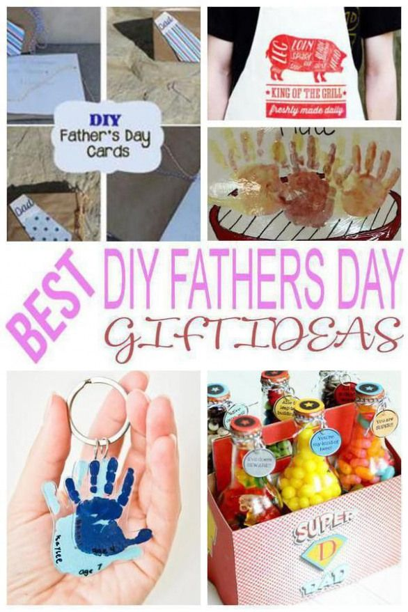 DIY Fathers Day Gifts!The best DIY Fathers Day gift ideas! Fun & creative ideas kids will love to create for dad.Gift ideas from kids from daughter baby wife teens son & adults.Crafts that any dad grandpa stepdad or papa would love to receive. Easy cheap yet unique creative & meaningful & memorable ideas.From wood to beer to golf to fishing to picture frames to BBQ to hand prints & more.Simple DIY crafts for Fathers Day!Get last minute awesome & cool DIY Fathers Day gift ideas now!