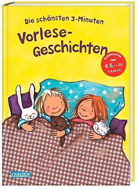 Die schönsten 3-Minuten Vorlese-Geschichten Buch kaufen | Jokers.de