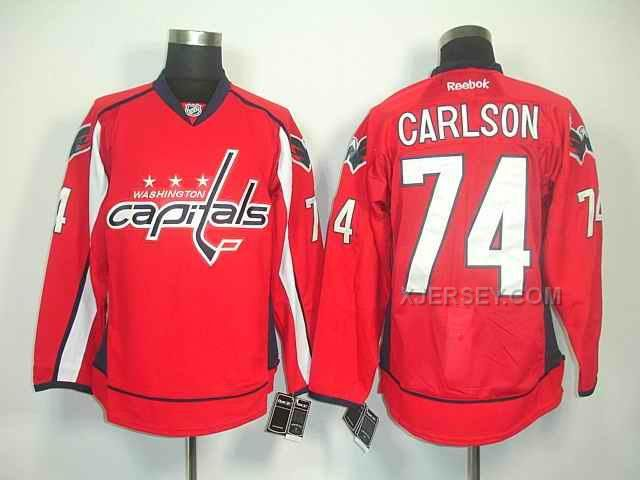 http://www.xjersey.com/capitals-74-carlson-red-jerseys.html CAPITALS 74 CARLSON RED JERSEYS Only $46.00 , Free Shipping!