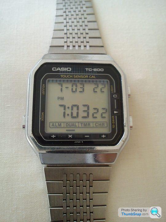 casio 1980s digital watches