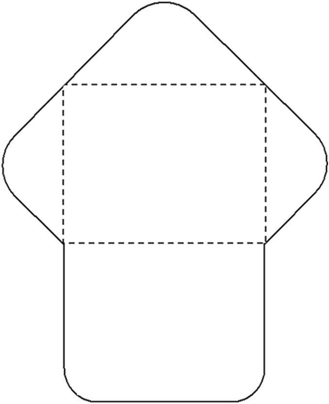 свои картинка развернутого конверта показать