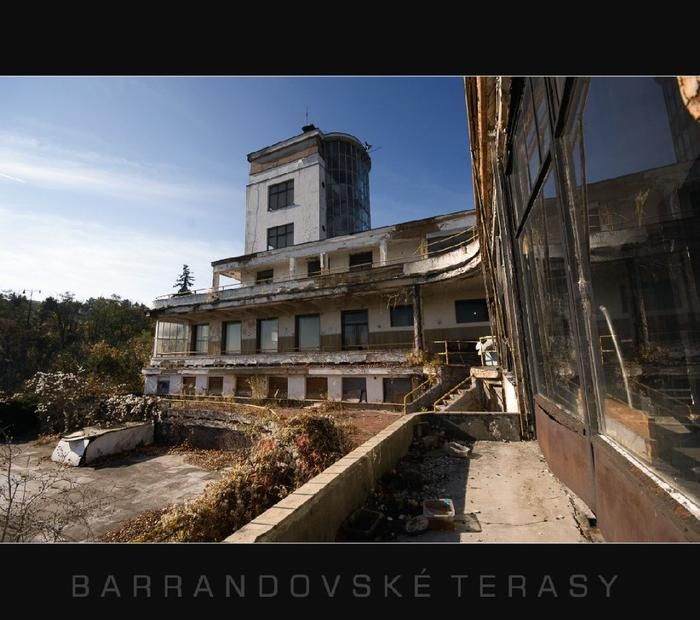 Barrandov terraces