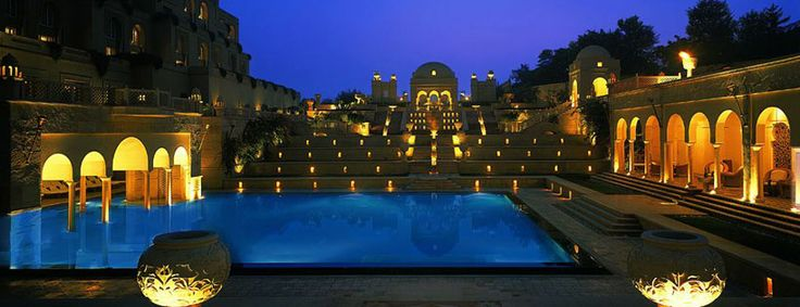 The Oberoi Amarvilas, Agra , India  We woke up to the site of the Taj Mahal , amazing view. Sublime hotel