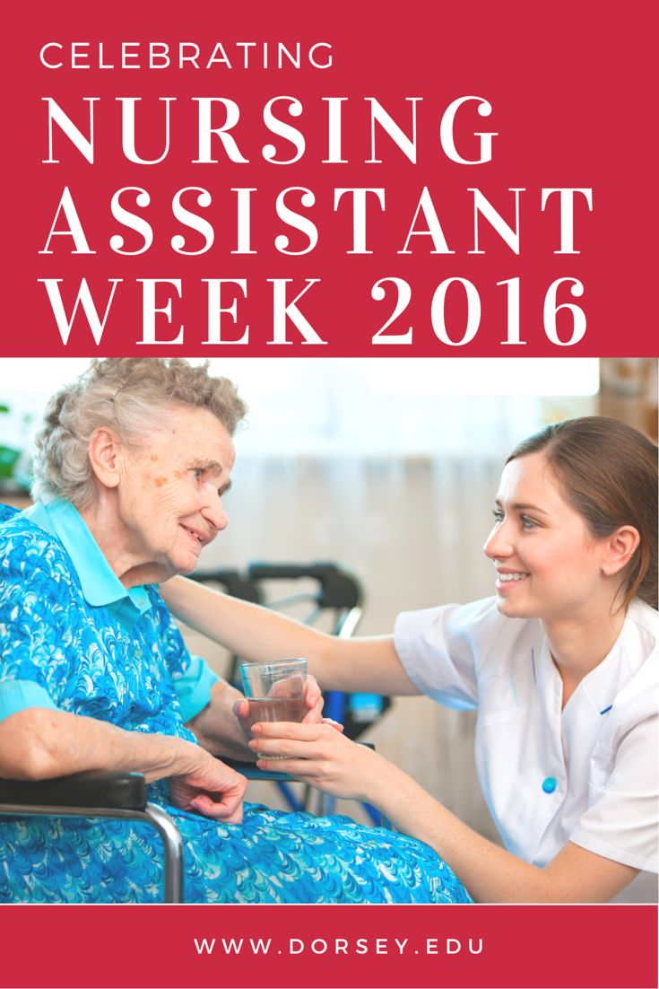 June 9, 2016 is the beginning of the 39th annual National Nursing Assistants' Week! We, at Dorsey Schools, invite you to join us in recognizing Nursing Assistants for their dedication to their patients and the healthcare field.Learn more about what nursing assistants do, where they work, and how to become one.  http://dorsey.edu/blog/national-nursing-assistant-week-2016/