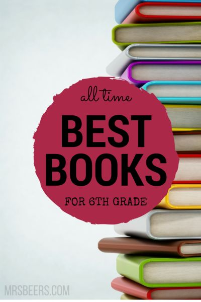10-BEST BOOKS for 6th Grade and novel units to engage your students!