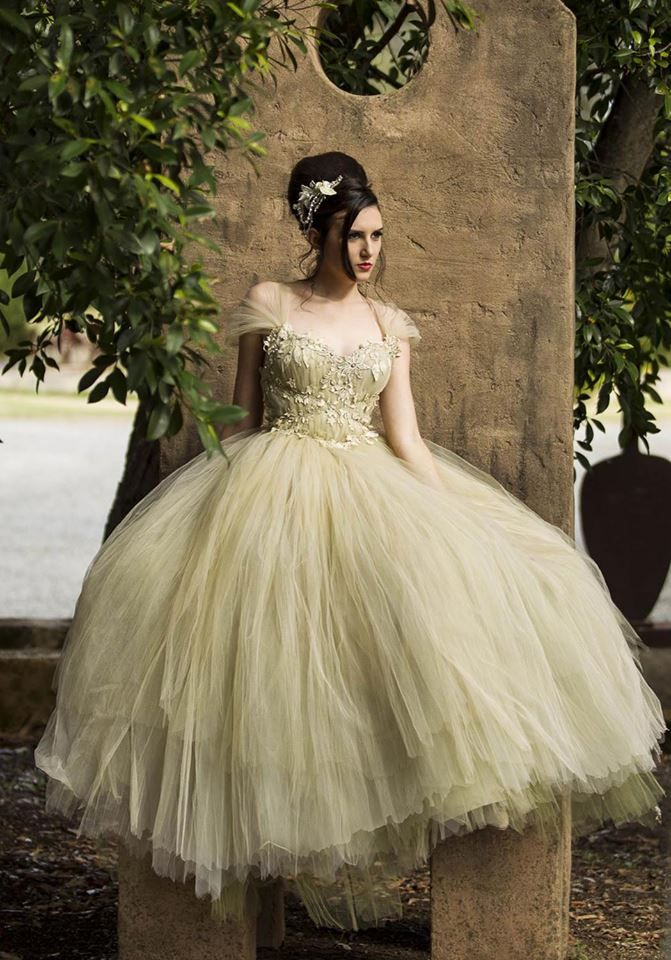 Fantasy Tulle Wedding Gown http://www.arcarocouture.com.au  Photography by: Lighthouse by Cyrus