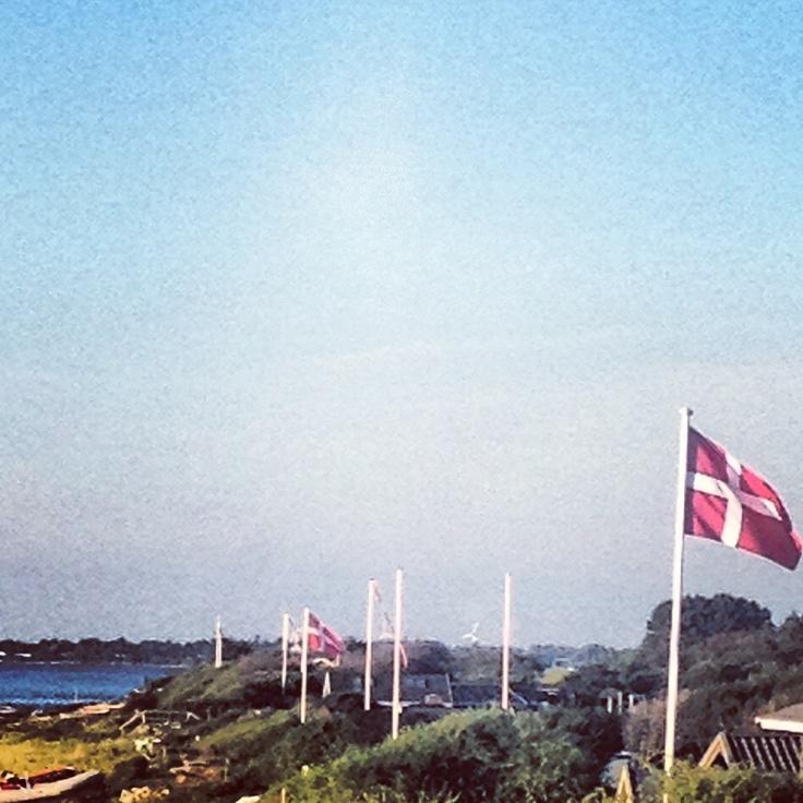 Danish beach houses in Korsør. Late August, 2012