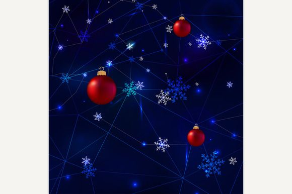 Christmas Background by Double Brain on @creativemarket