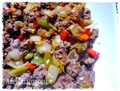 Recetas Light - Adelgazaconsusi: Ternera con verduras paisanas a la barbacoa