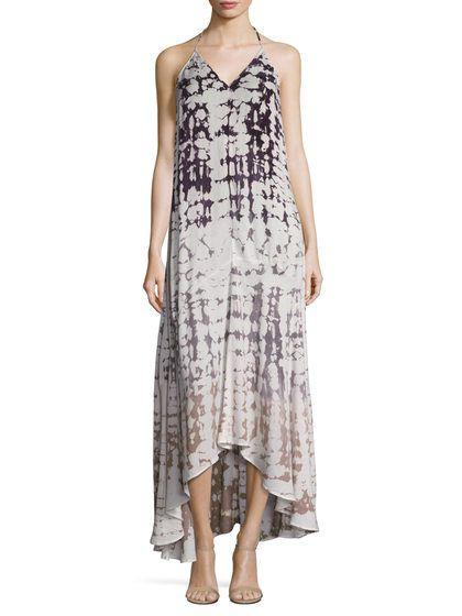 Shanice Tie Dye Maxi Dress by Young Fabulous