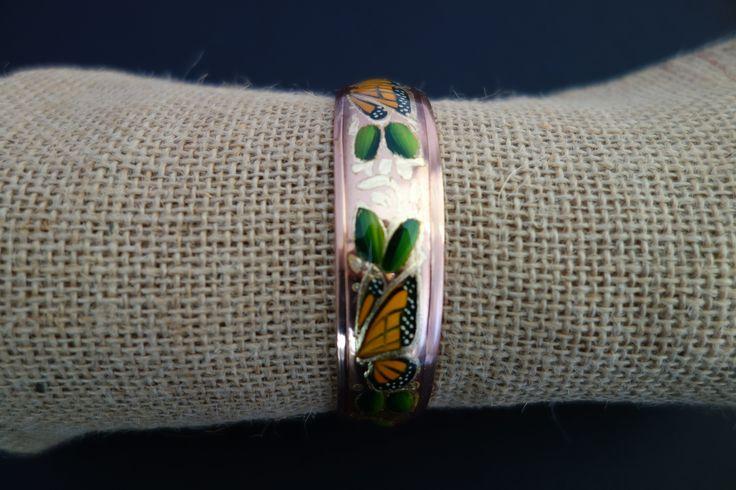 Bracelet original martelé à la main - Bijoux mexicains - Mexique : Bracelet par mexelegancia