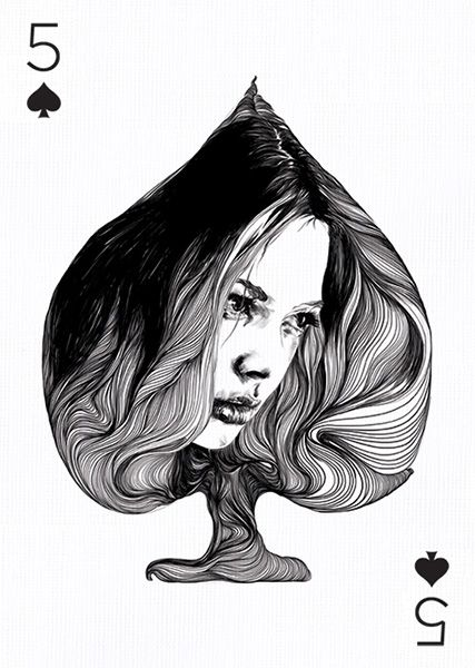 5 of Spades by Gabriel Moreno