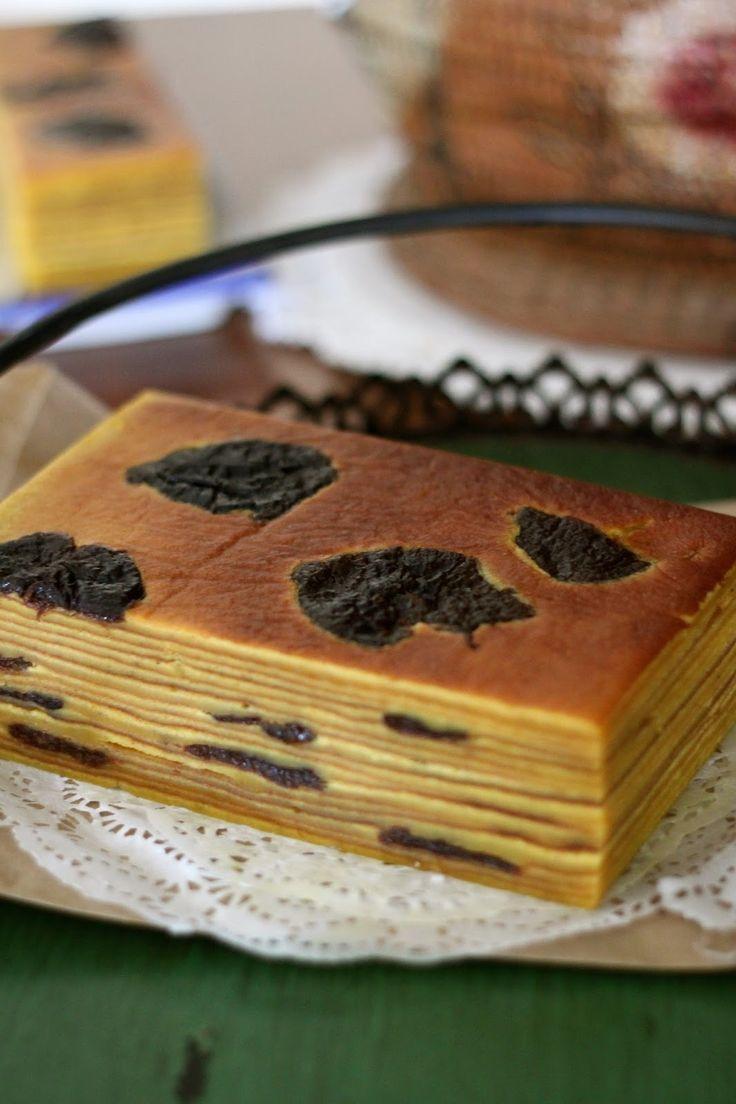 干梅子千层蛋糕(Prune Lapis Lengit)