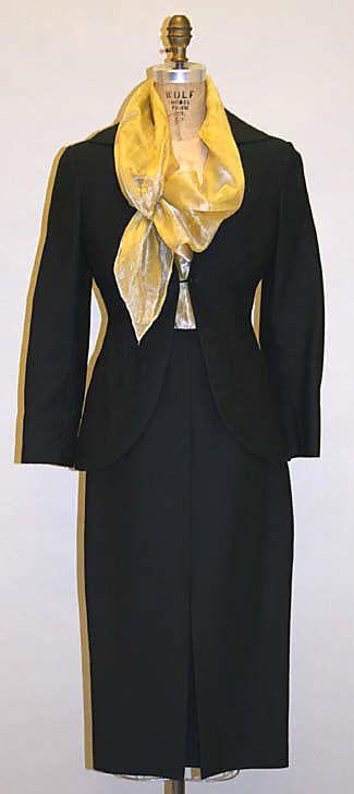 Suit, Romeo Gigli, 1996, Italian, cotton and silk