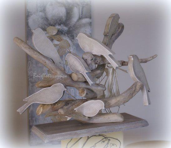 394 best driftwood bois flotte corsica images on pinterest for Chandelier bois flotte