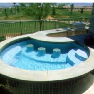 257 best hot tub ideas, jacuzzi, and spa images on pinterest ... - Spa Patio Ideas