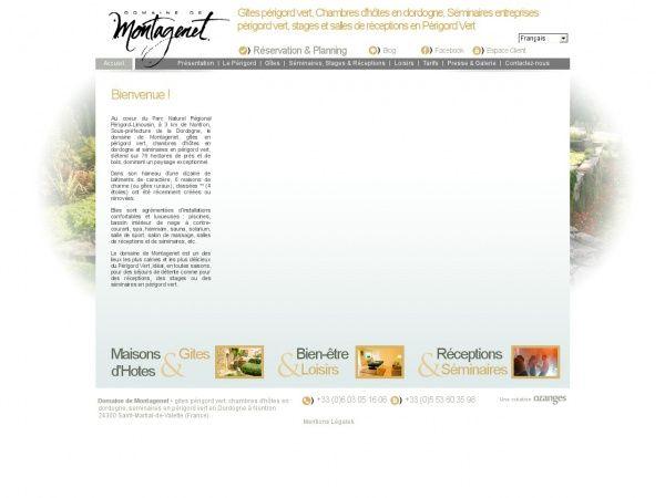 http://www.domaine-de-montagenet.com/FR/ sur perigordvert.info