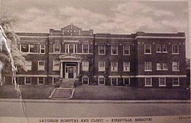 Laughlin Hospital, Kirksville, Missouri. My second job out of high school and where my grandmother worked as an RN.