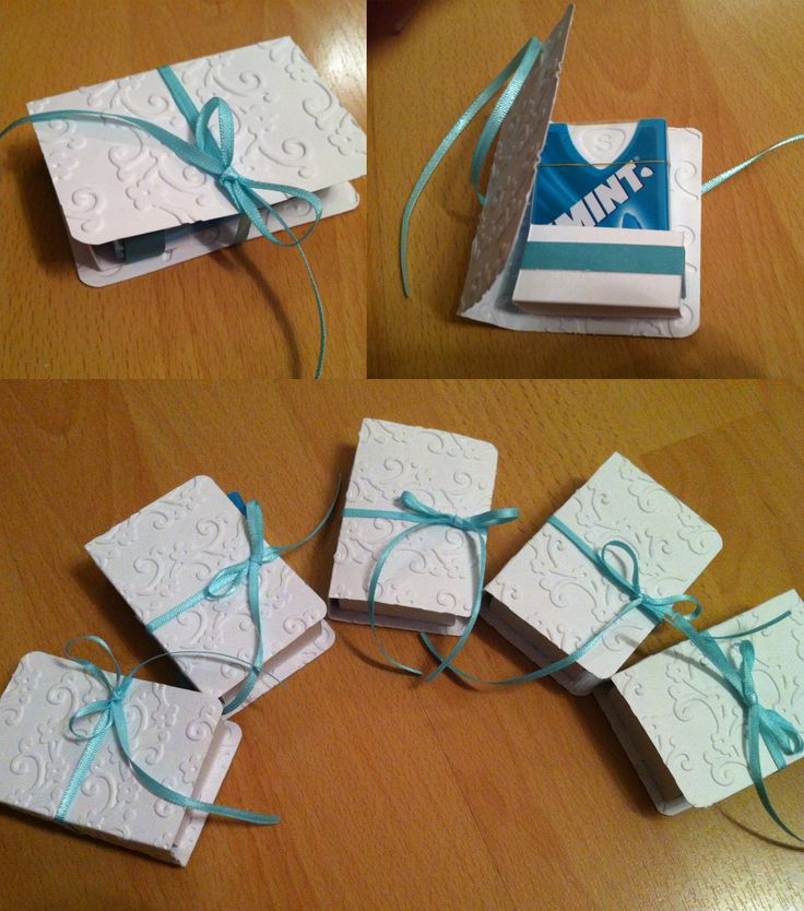 """I created a wedding-themed packaging for the """"Smints""""-Mints"""