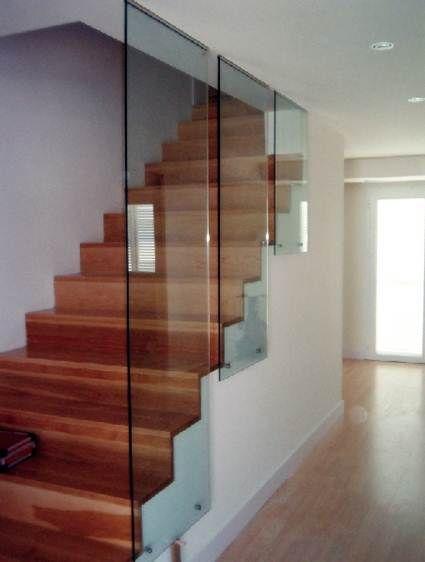 diferentes tipos de escaleras barandillas modernas