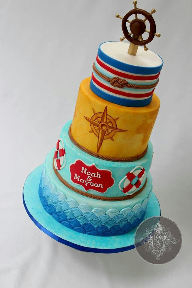 1000+ images about Nautical Cakes on Pinterest Sailor ...