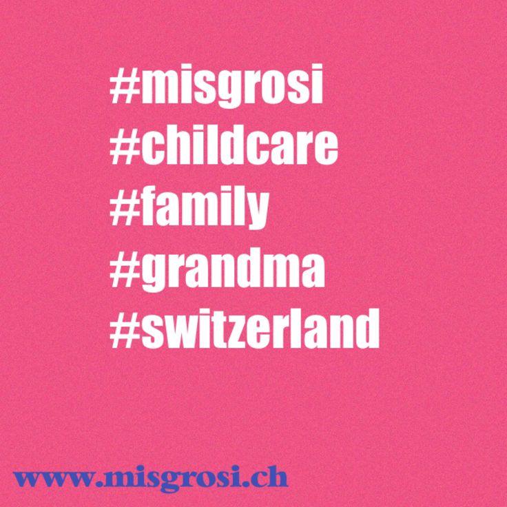 Rent a Grandma with MisGrosi - Child Care  www.misgrosi.ch  #kinderbetreuung #childcare #babysitting #nanny #kids #parents #expats #basel #rentagrandma #grandma #misgrosi #grosi #grossmutter #oma