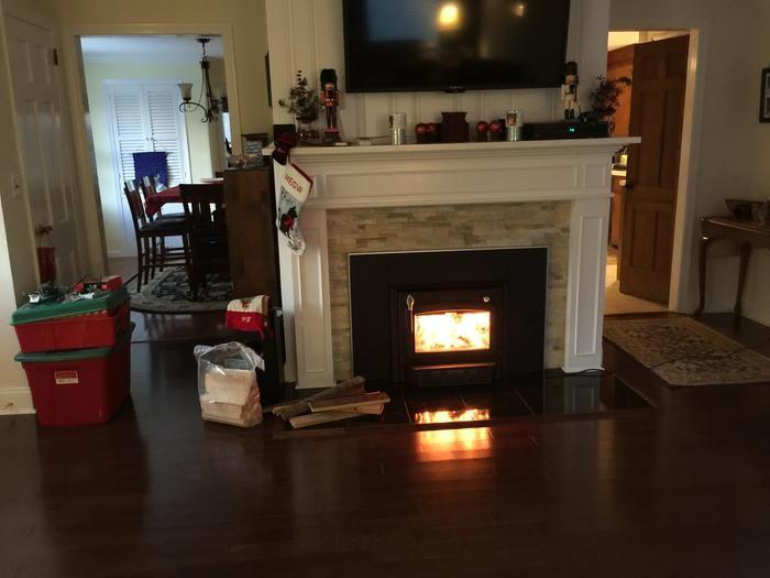 Century Heating High-Efficiency Wood Stove Fireplace Insert — 65,000 BTU,  EPA-Certified, Model# CB00019 - 25+ Best Ideas About High Efficiency Wood Stove On Pinterest