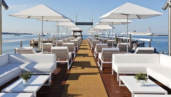 Hôtel Barrière Cannes - Le Majestic - Pier
