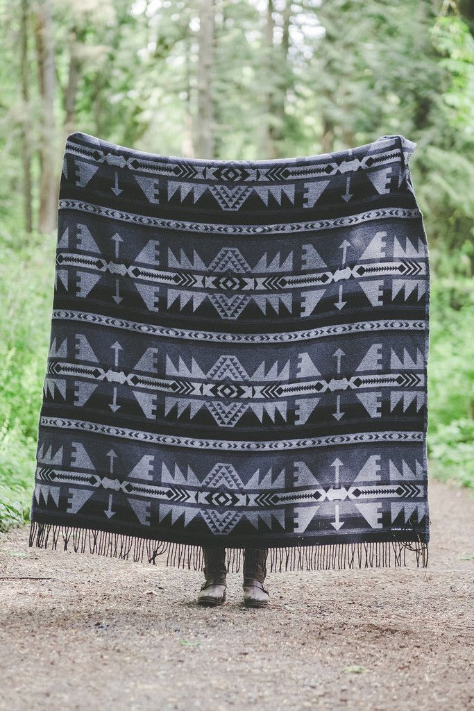 www.sackclothandashes.com ARROW Collection - Black This company is amazing and donates a blanket to your local homeless shelter for every blanket purchased!