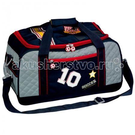 Spiegelburg Спортивная сумка Soccer 10883  — 3839р. ------------  Отличная сумка для занятий спортом для активных мальчиков. Практичная и внутренняя планировка спортивной сумки Soccer позволяет идеально разместить обувь и спортивную одежду отдельно друг от друга.   Особенности:   Размер: 42 х 23 х 22 см
