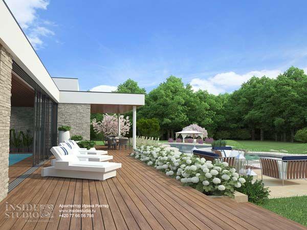Архитектурный проект загородного дома Штарнберг, Германия. Архитектор Ирина Рихтер.