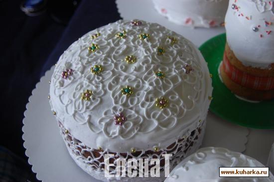 Идейки на ПАСХУ (идеи украшения тортов, куличей и другой выпечки)