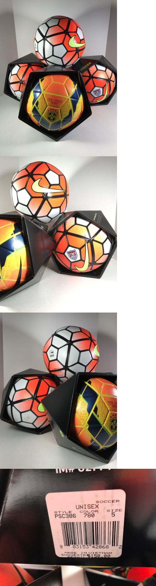 Balls 20863: Nike Ordem 1 3 Soccer Balls Size 5 Lot Of 4 New Fifa Official Football Match -> BUY IT NOW ONLY: $199 on eBay!