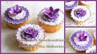 Paarse cupcake / Zutphen