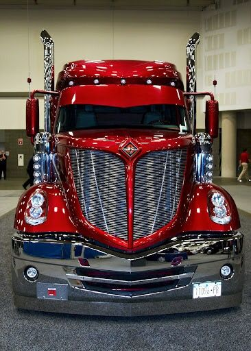 I love trucks, though never driven one, but this one? well, WOW! is all I can say, and it helps that its my favorite color too! lol