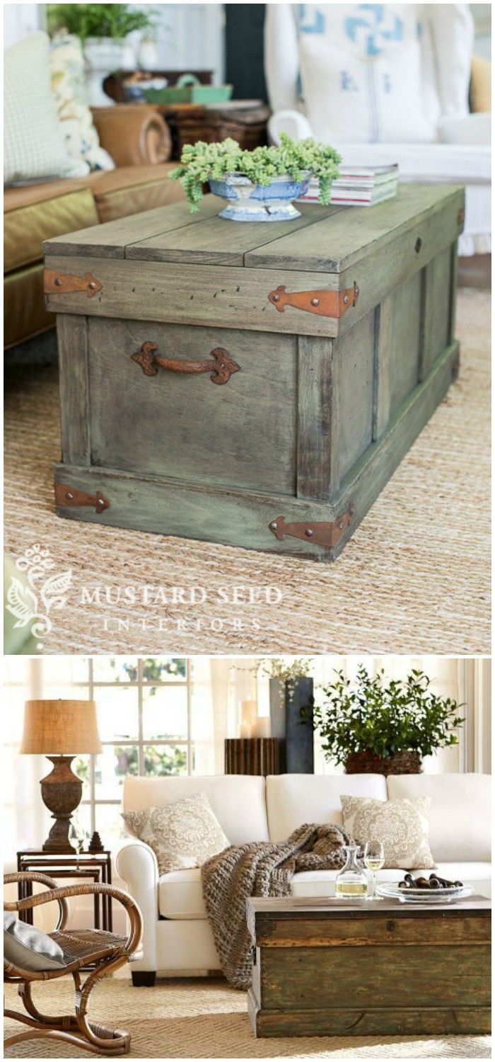 Best 25 trunk table ideas on pinterest tree trunks diy diy farmhouse coffee table ideas from cute cubes to industrial wooden spools see the best geotapseo Choice Image