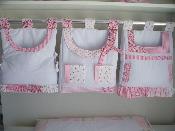 Porta fralda Vestido - Enxovais Cordeirinho Baby