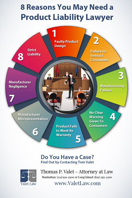8 Reasons You May Need a Product Liability Lawyer: http://valetlaw.blogspot.com/
