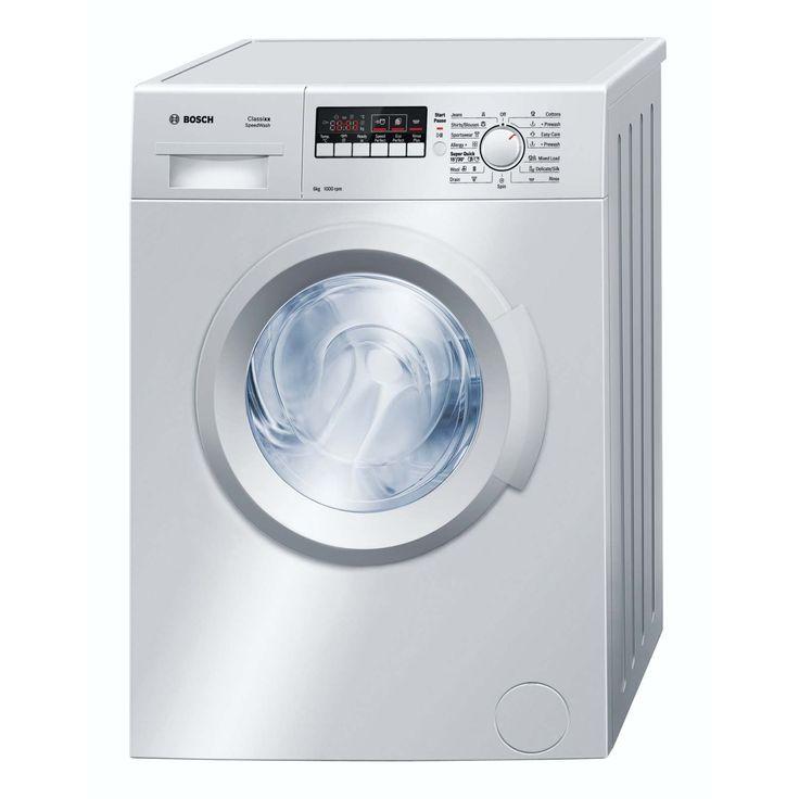 The @BoschKitchensSA 6kg #WashingMachine is the epitome of energy efficient appliances #Appliances http://bit.ly/1LKpYfI
