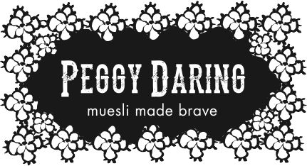 Peggy Daring... muesli made brave