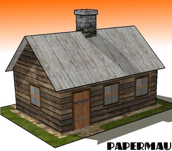 This is the Wood Cabin, a simple model  in only two sheets of paper  that I believe will be useful for Dioramas, RPG and Wargames. Have fu...