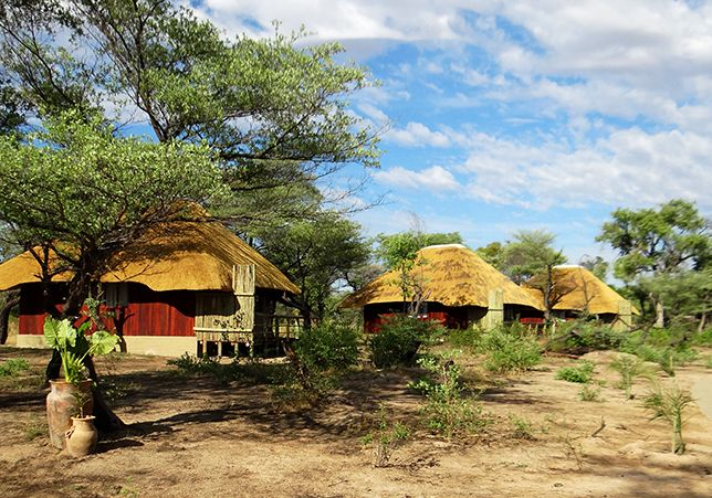 """Hakusembe River Lodge sports a new look!  """"Well maintained chalets by the Kovango river; fine gardens; excellent food by candle-light; knowledgeable and helpful Namibian staff."""" This is how a happy guest describes Hakusembe River Lodge on TripAdvisor. Click here to read the whol story : http://www.gondwana-collection.com/home/news/news-2013/news-13-11-13-hrl-new-chalets/  #namibia#hakusembe #okavango #lodge"""
