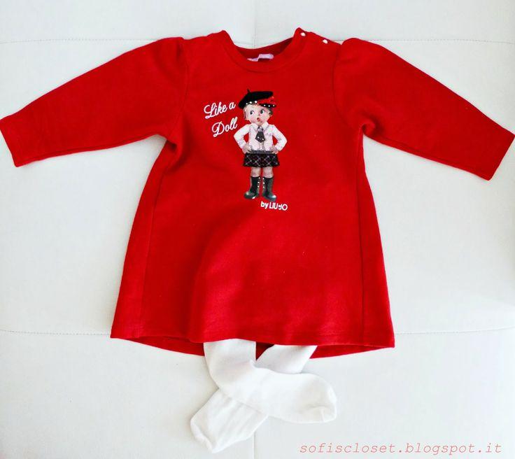 vestitino rosso su sofiscloset.blogspot.it