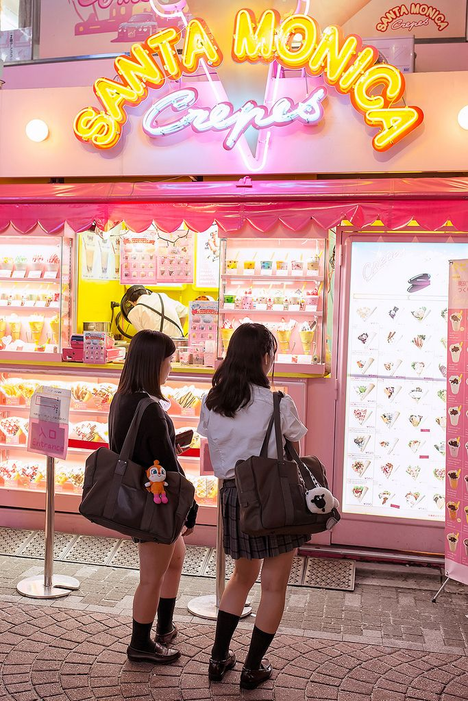 Harajuku ♣ Tokyo ♣ Japan ♣ (Japanese crepe is the best?)
