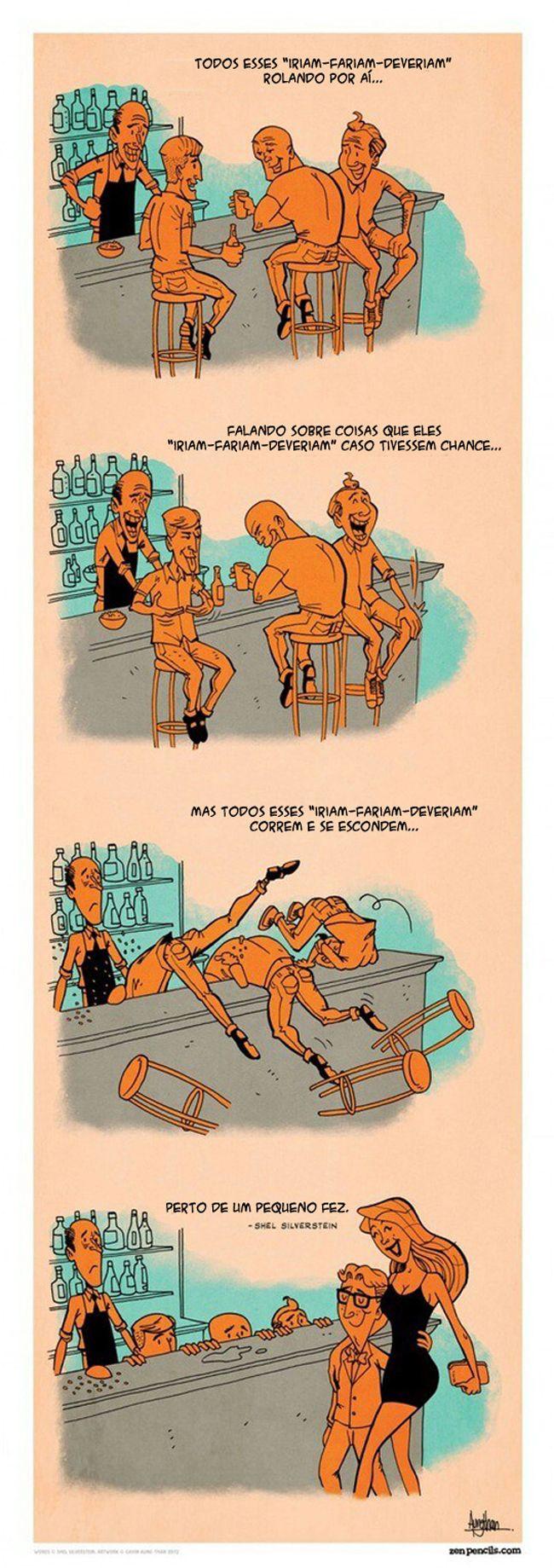 Satirinhas - Quadrinhos, tirinhas, curiosidades e muito mais! - Part 189