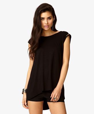 Spiked black top