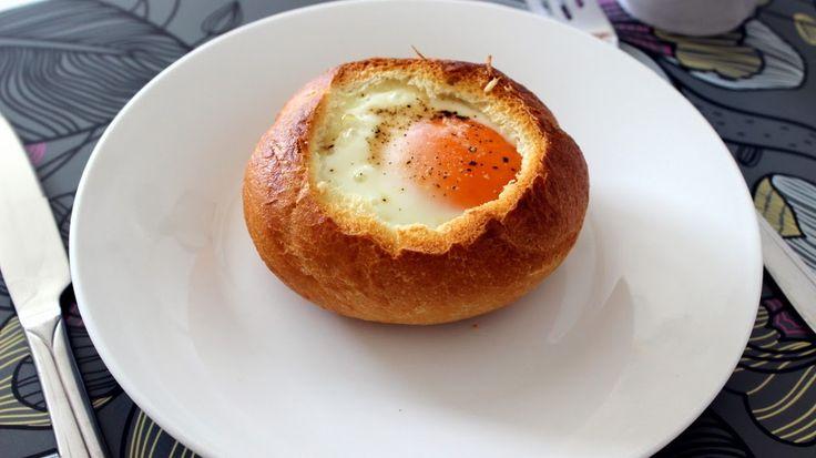Ditecz: Jajko zapiekane w bułce