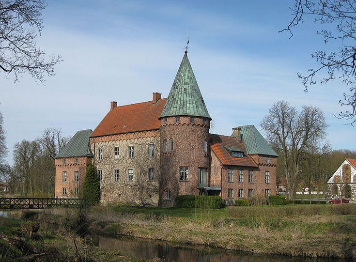 Örtofta Castle in Eslöv Municipality, Skåne, Sweden. (40 km., north of Malmo.